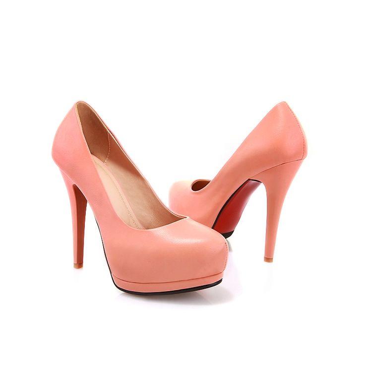 Women Soft Leather Stiletto High Heel Pumps Dress Shoes