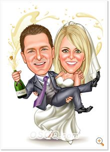 """""""Should I have caricatures artist at my wedding?"""""""