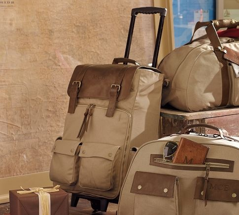 Waxed Canvas Cabin Bag From Pottery Barn Travel Light