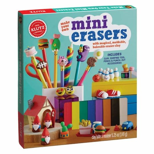 Make Your Own Mini Erasers By Klutz Michaels Make It Yourself