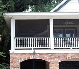 Screen Tight Gallery | Screen Tight -- maintenance free easy to install system --- convert deck to screened in porch for stage 2