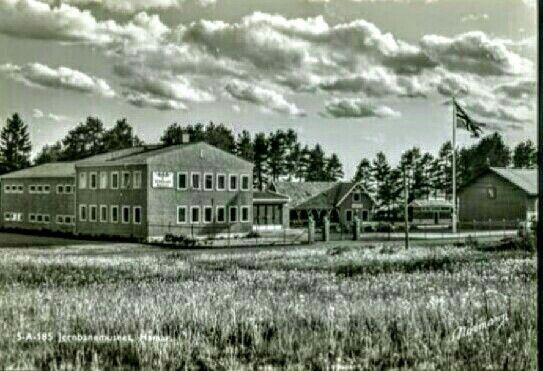 Hamar i Hedmark fylke Jernbanemuseet 1950-tallet Foto Normann