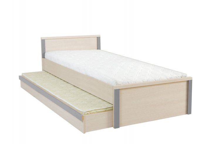 CAPS 90 cm Säng med utdragbar extrasäng under / ALLTING INGÅR, 4200kr