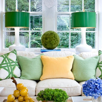 yellow and green colour scheme inspiration