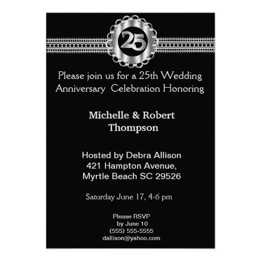 20 best 25 wedding anniversary invitations images on pinterest 25th wedding anniversary invitations filmwisefo