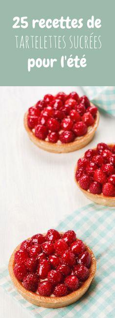 Aux framboises, aux fraises, au citron... 25 recettes de tartelettes sucrées pour l'été !