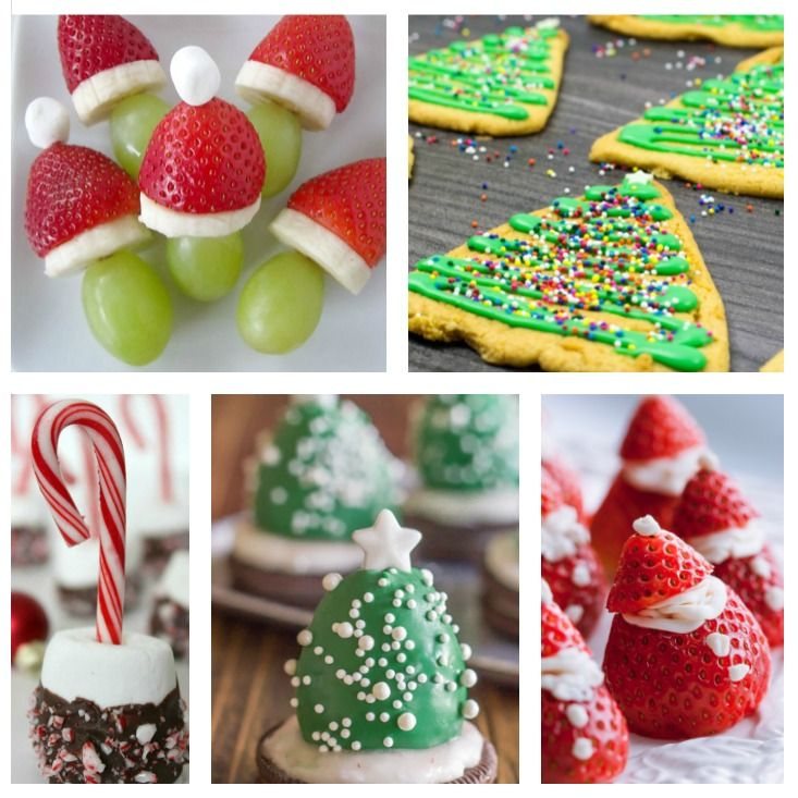 15 Fun Christmas Dessert Treats For Kids