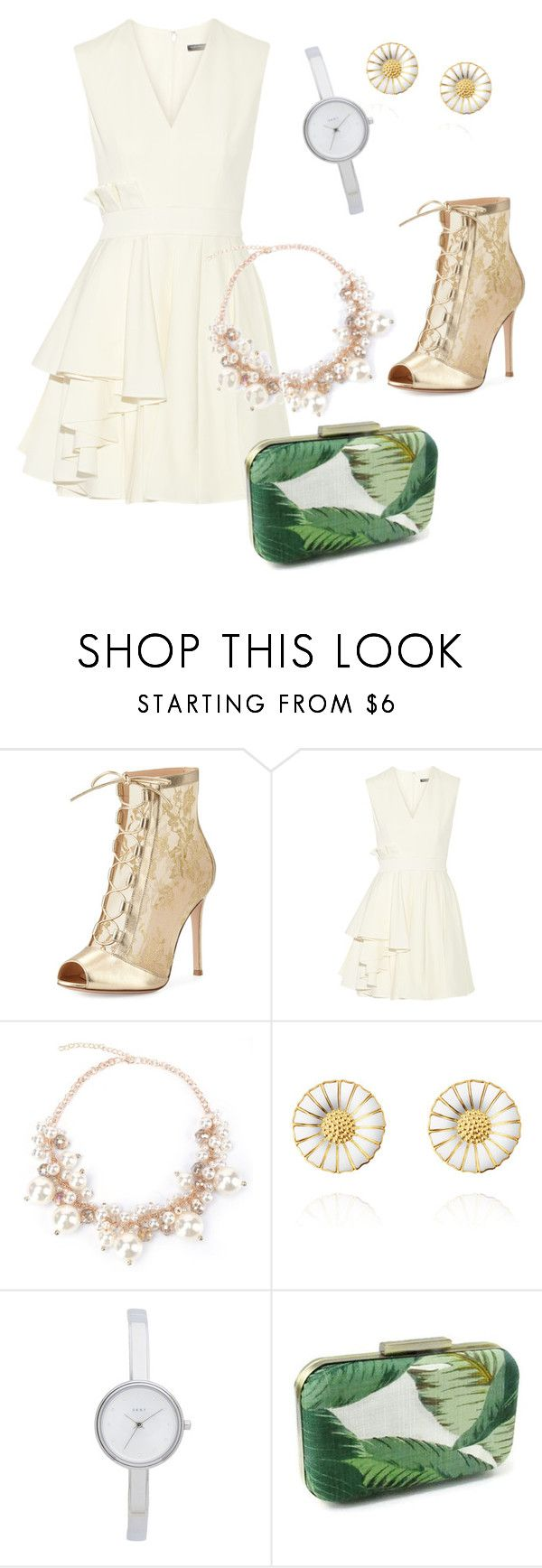 """outfit#104"" by alifia-fae on Polyvore featuring Gianvito Rossi, Alexander McQueen and DKNY"