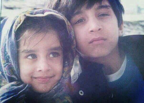 Shraddha Kapoor with her brother Siddhant Kapoor