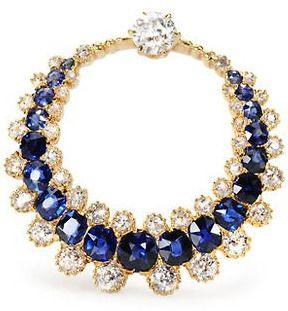 Victorian Aurora: Sapphire & Diamond Brooch