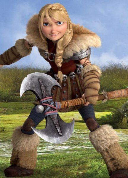 Astrid from Dreamwork's How to Train Your Dragon on Facebook