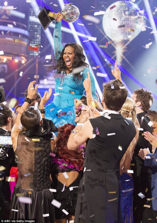 "'Women of all sizes can do whatever they put their minds to' - Amber Riley (from ""Glee"") wins Dancing With The Stars.  ""Not only is Amber in..."