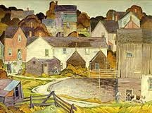 """Saturday Afternoon"" A.J. Casson"