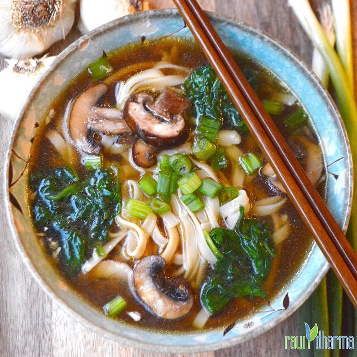 Gluten Free Vegan Ramen  Made with Rice Noodles and full of goodness and rich flavour, this is another hearty soup.