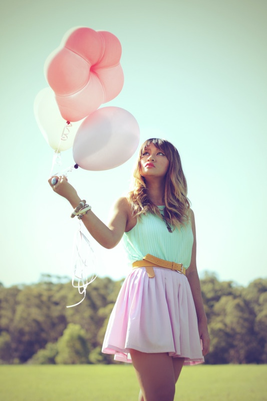 Love the color match~ pastels