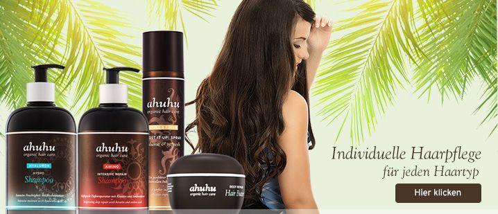 Silikonfreies Shampoo kaufen | ahuhu Onlineshop