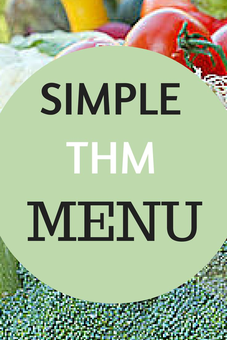 Here's how I keep Trim Healthy Mama simple: