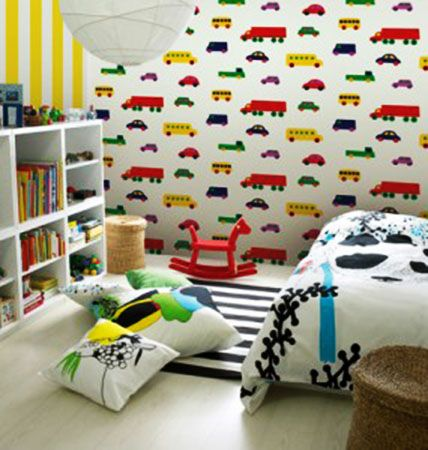 17 best images about kids rooms on pinterest decorating for Kids room wall paper