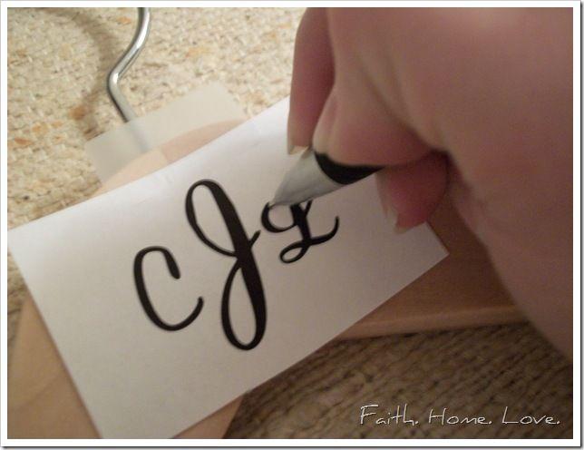 Best Bridesmaid Hangers Ideas On Pinterest Engraving Ideas - Diy vinyl wedding hangers
