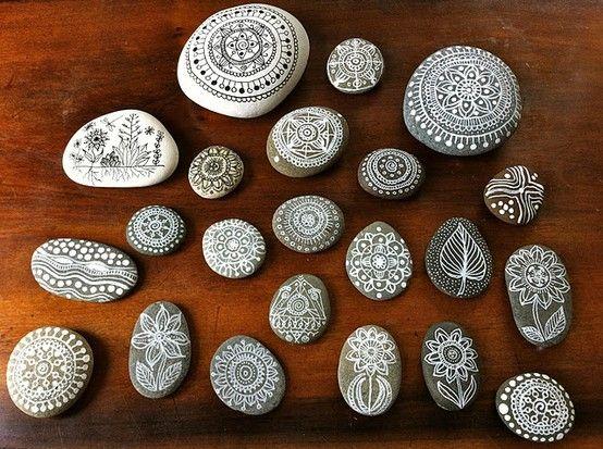 Inspire Bohemia - painted rocks