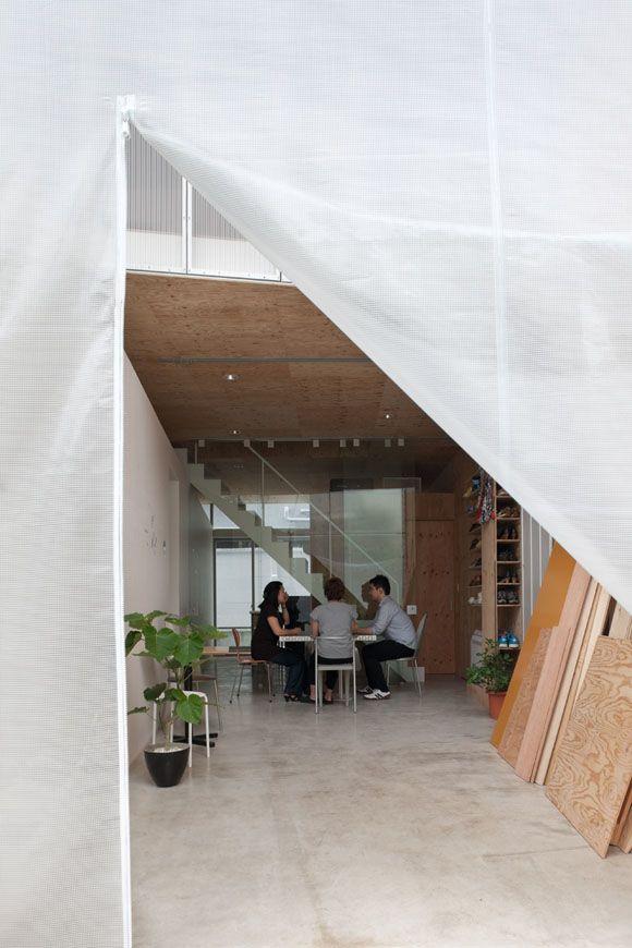 JA+U : SHAREyaraicho by Satoko Shinohara / Spatial Design Studio + Ayano Uchimura / A studio ©Shinkenchiku-sha