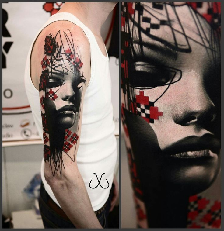Pin by frank roddy on tattoo artist timur lysenko for White ink tattoo artists