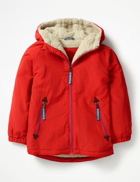 38e0742a23d5 Sherpa-lined Anorak B0392 Jackets at Boden