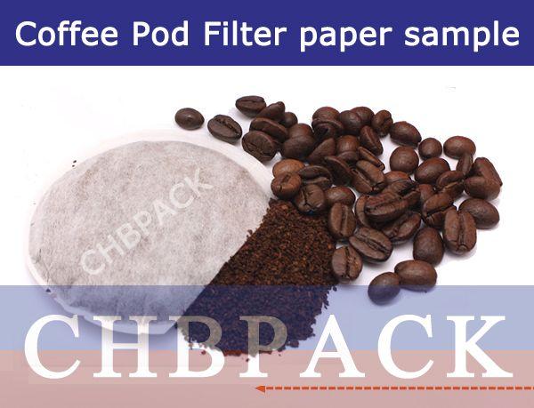 Coffee Pod Filter paper sample