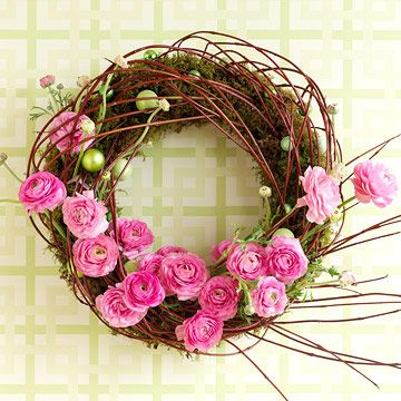 spring wreath: Spring Flowers, Pink Flowers, Doors Decor, Easter Wreaths, Fresh Flowers, Spring Doors, Spring Wreaths, Floral Wreaths, Little Flowers