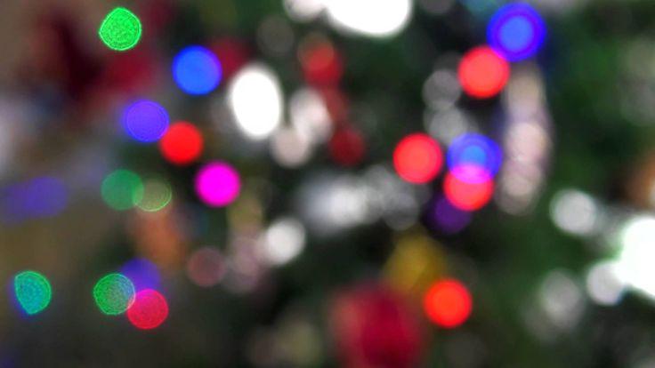 Футаж Новогодний - Боке
