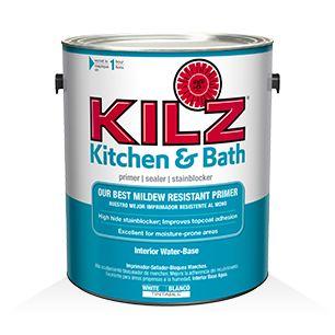 KILZ® Kitchen & Bath Primer - Primers, Specialty Paints & Concrete Care Products - KILZ®