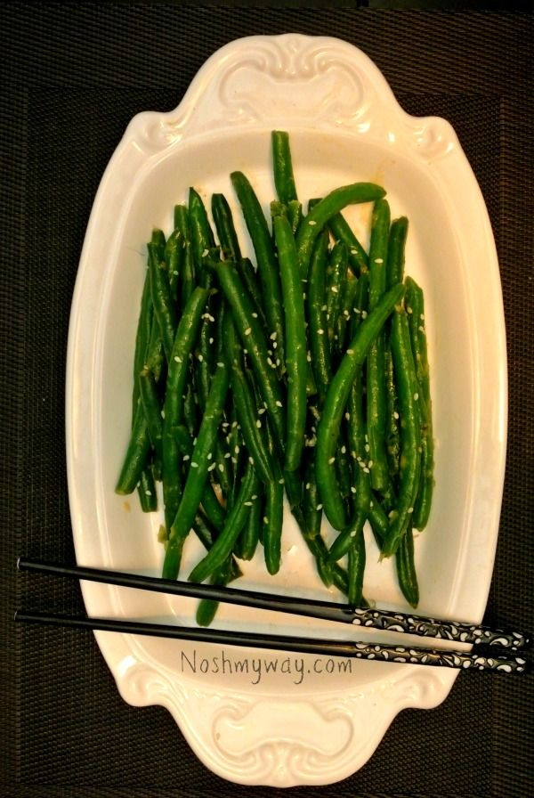 Quick and easy, these Miso Butter Green Beans are pan-fried and will ...