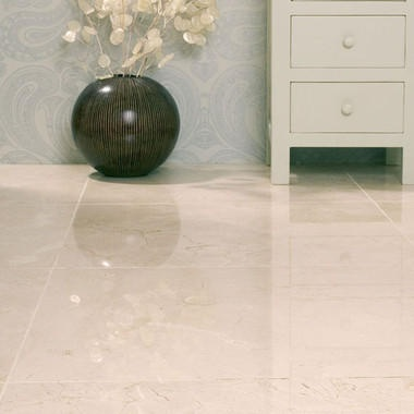 Contemporary And Modern Cream Marble Effect Highly Polished Porcelain Tiles These Look Just Like But Without The Maintenance A Lot More