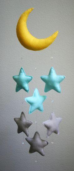 móviles infantiles para colgar | Para decorar una habitación infantil, pocas cosas más bonitas que un ...