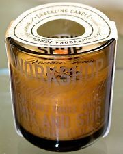 DW HOME VODKA TONIC CANDLE WOOD WICK CRACKLING WORKSHOP 8.07OZ NEW CWS852