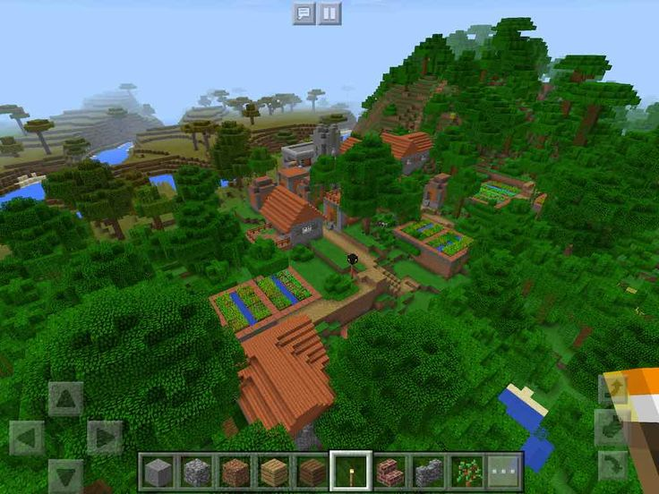 how to get wheat seeds in minecraft pe