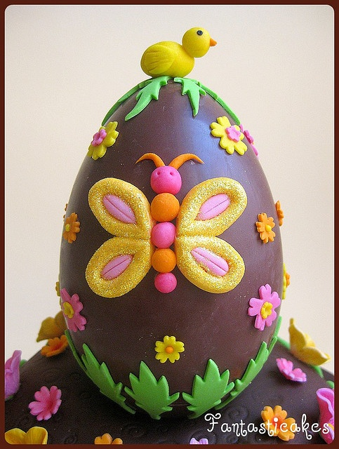 Topper Easter Chocolate Egg