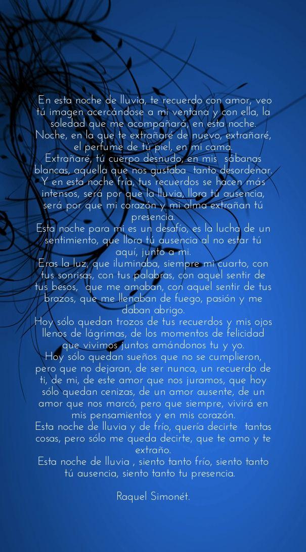 Check out my new PixTeller design! :: En esta noche de lluvia, te recuerdo con amor, veo t&uac...