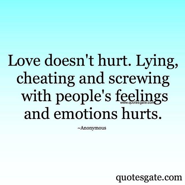 Love doesn't hurt~