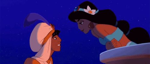 But when you're both ready, go in for the kiss. | Disney's Guide To Getting It On
