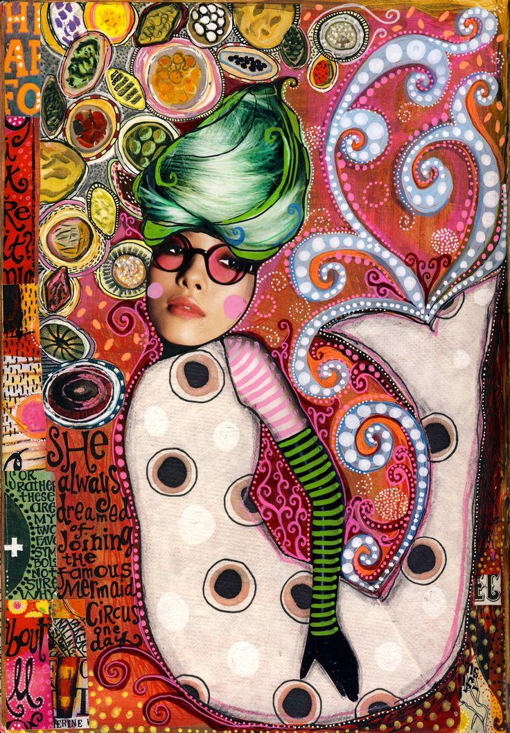 Teesha Moore » Gallery | Collage Journal and Zetti Art ...