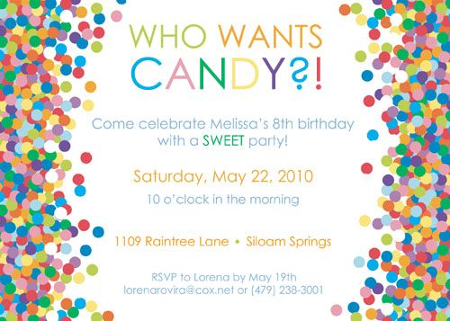Who Wants Candy?! A Candy-Themed Birthday Party | Project