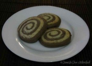 Pinwheel Cookies. Suitable for the Failsafe Diet.