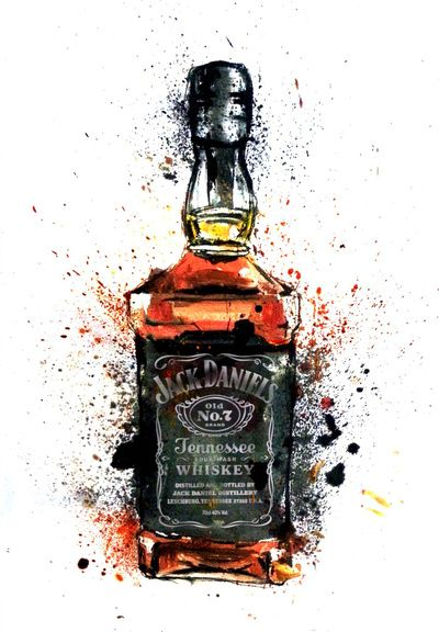 Jack Daniels Art Print