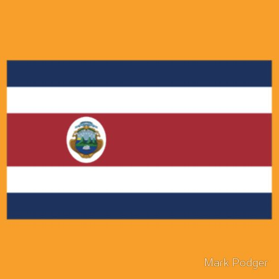 Costa Rica Flag Products