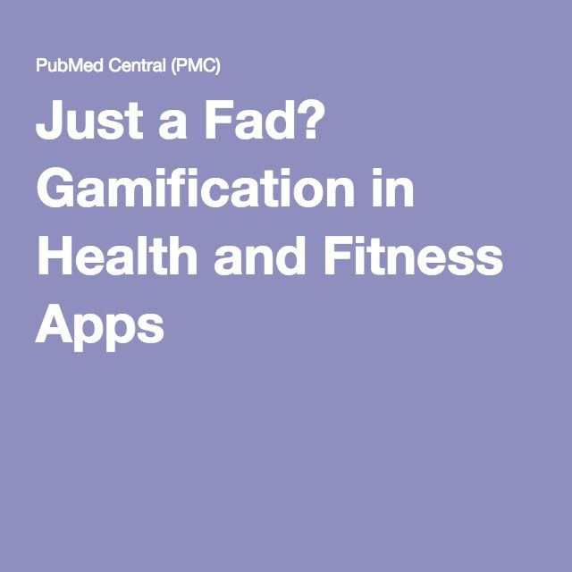 Just a Fad? Gamification in Health and Fitness Apps