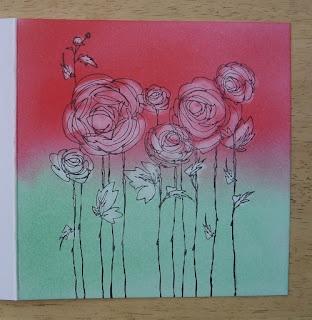 Sam's blog: Pan Pastels, Stamping & Erasing