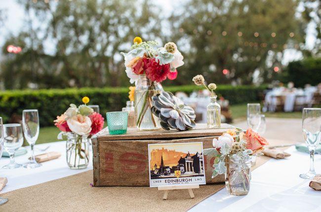 Vintage Travel-Themed Wedding: Brittney + Patrick | Green Wedding Shoes Wedding Blog | Wedding Trends for Stylish + Creative Brides