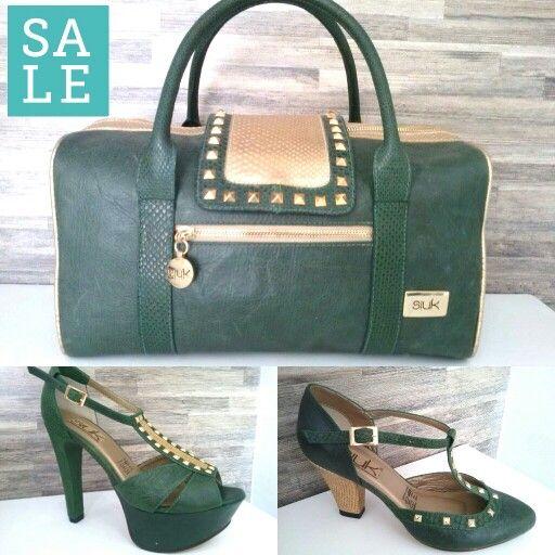 Verde esmeralda en SALE