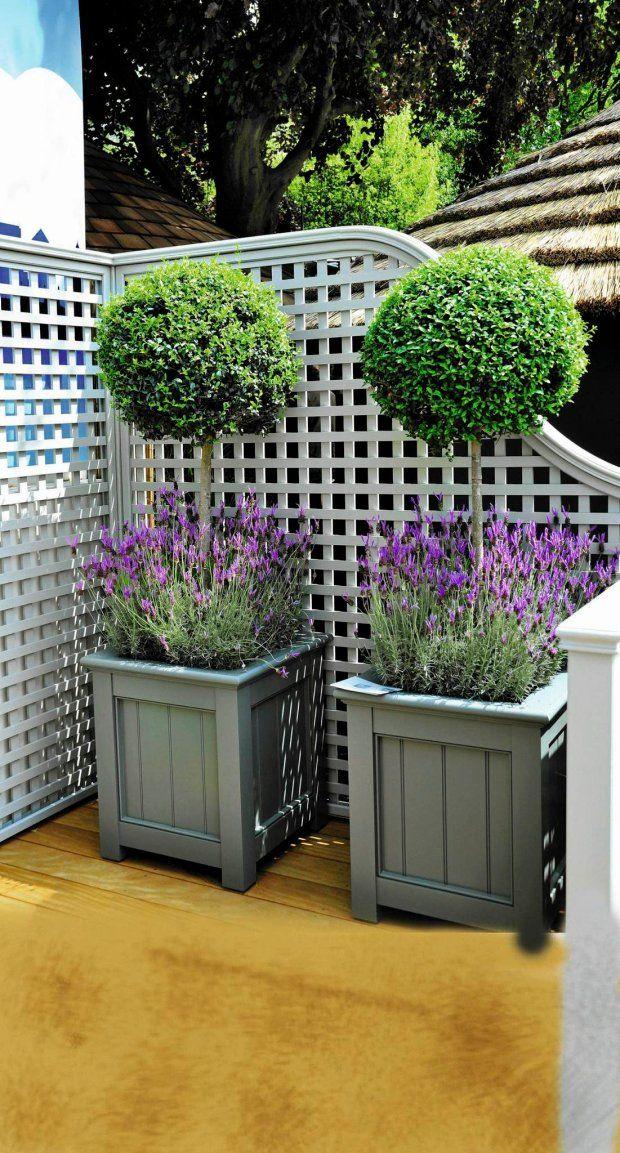 Zdjęcie numer 6 w galerii - 20 pomysłów jak urządzić  przestrzeń do wypoczynku na tarasie i balkonie